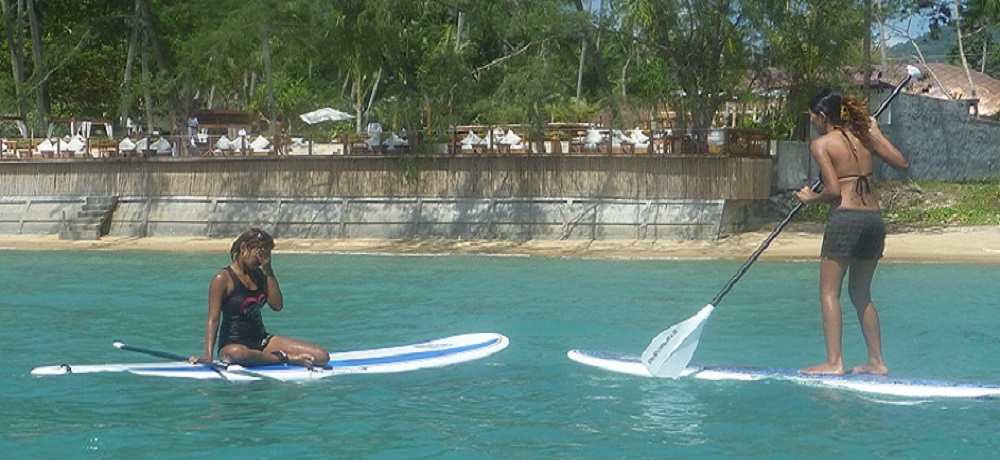 windsurf surf paddleboard in samui
