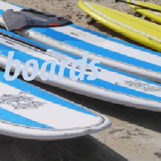 Different kinds of paddleboards samui