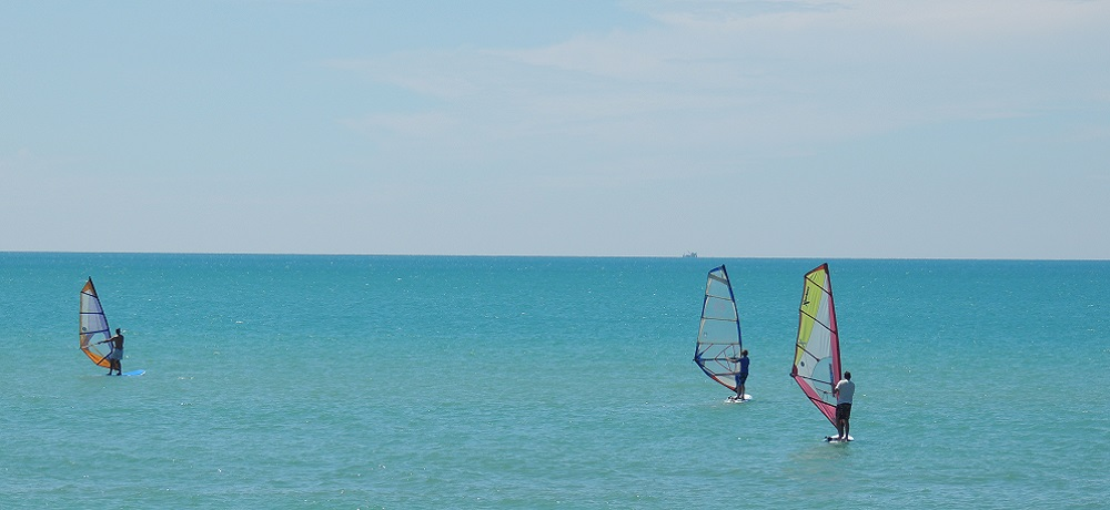 sup windsurf paddleboard in samui