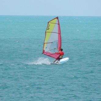 Windsurf in koh samui thailand